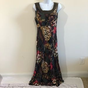 Vintage Carole Little Maxi Dress